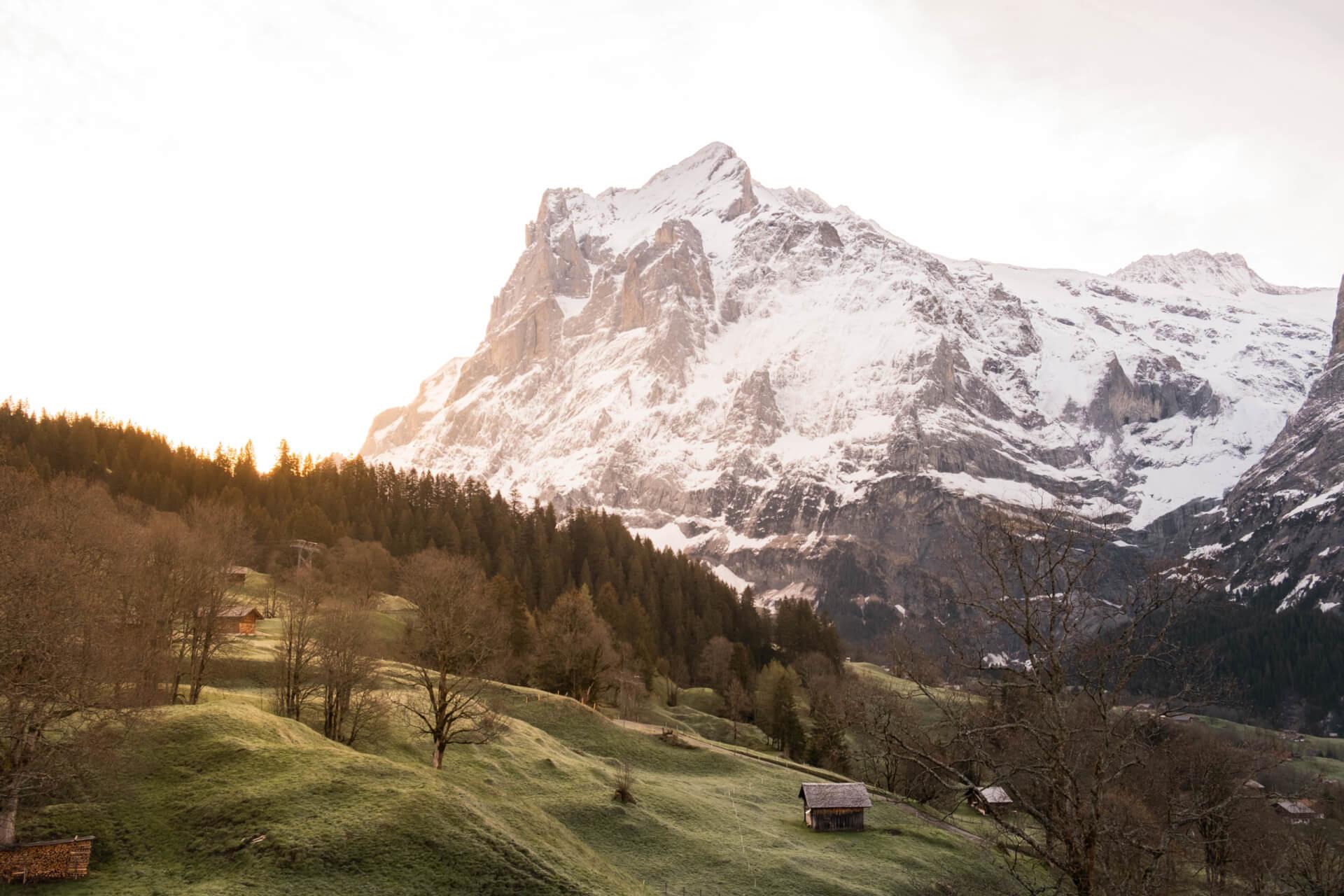 Un weekend dans l'Oberland